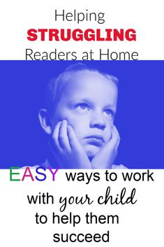 Helping Struggling Readers at Home - Reading Love. Helping struggling readers at home is extremely important. These easy suggestions will give you the tools you need to help your child be a successful reader. Reluctant Readers, Struggling Readers, Reading Strategies, Reading Skills, Reading Intervention, Preschool Special Education, Gifted Education, Reading Difficulties, Reading At Home