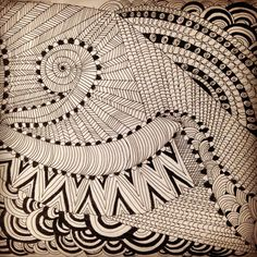 I am trying Zentangle Art these days... :) Ankkita