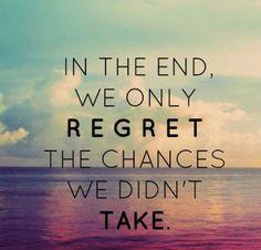 No regret~