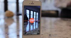 Cycloramic #iPhone #app allows you to follow a straight line to take photos. Unlike other #photo apps, you don't have to push any buttons - Just hold and STOP.