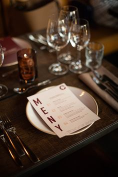 Menu designed for Winemakers Dinner arranged by Tenuta Carretta, Flaaten Wines and Dilla Holding at Cargo Restaurant & Bar, located in Oslo, Norway. Menu Design, Dinner Menu, Oslo, Restaurant Bar, Wines, Norway, Table Settings, Branding, Table Decorations