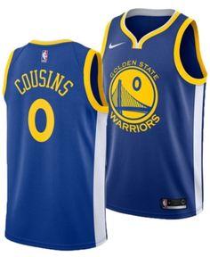 Nike Men s DeMarcus Cousins Golden State Warriors Icon Swingman Jersey -  Blue S f36428935