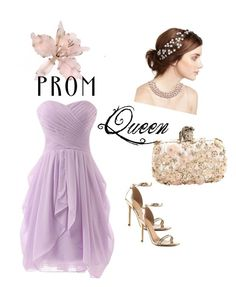 """Prom queen"" by vrbweb on Polyvore featuring Jennifer Behr, Alexander McQueen, ALDO and Chanel"