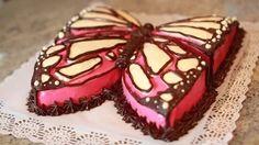 Mariposas de Chocolate para Decorar Cupcakes y Tartas - YouTube