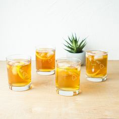 Home State Low Ball Drinking Glasses (Set of 4) (West Virginia), Clear
