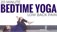 (9) yoga for an injured back - YouTube