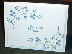 IC381, Prayers, CAS by Marleygo - Cards and Paper Crafts at Splitcoaststampers