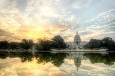 Capital at Sunrise