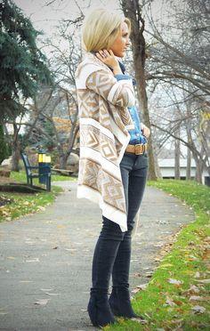 Tribal Sweater | Stylin' Mommies