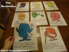 The Beatitudes Cards Printable