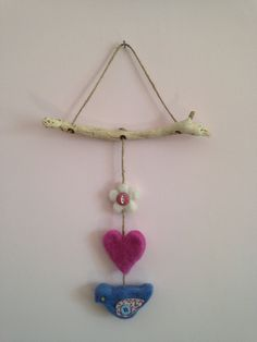 A personal favourite from my Etsy shop https://www.etsy.com/uk/listing/469028061/shabby-chic-cottage-chic-flower-heart