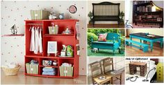 20+ Creative Ideas and DIY Projects to Repurpose Old Furniture