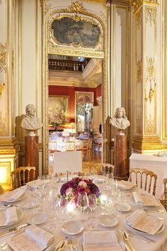 Réception dans le Grand Salon du Musée Jacquemart-André (Paris)