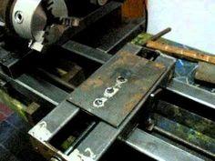 Diy Cnc, Diy Lathe, Homemade Machine, Homemade Lathe, Drill Guide, Metal Shop, Metal Crafts, Woodworking Tools, Sd