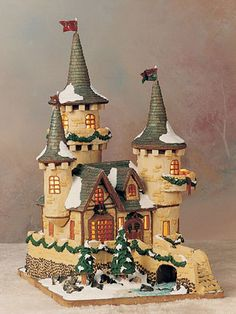 34 Amazing Gingerbread Houses