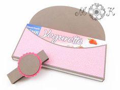 Schoki-Verpackung passend für Yogurette miriamkreativ.de