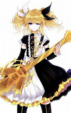 Kagamine Rin • Vocaloid •  Meltdown