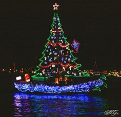 2009 Newport Beach Christmas Boat Parade 2 by Marcie Gonzalez, via Flickr