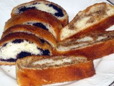 Traditional Slovak makovník and orechovník- Learn how to make the traditional Slovak poppy seed and nut rolls, as prepared my grandma. Read Recipe by tracynemec Slovak Recipes, Czech Recipes, Ethnic Recipes, Slovak Nut Roll Recipe, Eastern European Recipes, European Cuisine, Delicious Desserts, Dessert Recipes, Nut Recipes