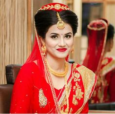 #nepali #wedding #tradition #nepal #marriage #bride #makeup #simple #saree #dress