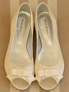 Zapatos de novia wanda borges