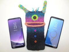 Handyhulle Alice Handy Smartphone Tasche Monster Filz Gefilzt Samsung Galaxy S8 S9 Samsung Galaxy A5 Smartphone Tasche Smartphone Handytasche