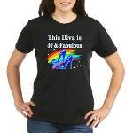 40TH FASHIONISTA Organic Women's T-Shirt (dark) http://www.cafepress.com/jlporiginals/12167399 #40thbirthday #40yearsold #Happy40thbirthday #40thbirthdaygift #40andfabulous #turning40 #40Happybirthday #40Birthdayidea #Personalized40th