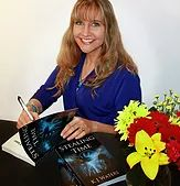 Webpage for KJ Waters, author of time travel stories swirled in a hurricane Win Cash Prizes, Book Cafe, Amazon Gifts, Blondies, My Books, About Me Blog, Author, Potpourri, Den