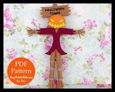 Pumpkin King. The Nightmare Before Christmas. Felt Doll. PDF Pattern and Tutorial. Halloween Pattern. Halloween Decoration. by FeltDollManiac on Etsy https://www.etsy.com/listing/233616710/pumpkin-king-the-nightmare-before