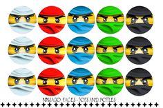 LEGO NINJAGO FACES