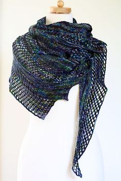 These are our very favorite scarf knitting patterns from Ravelry and beyond. They're mostly free patterns and they're all scarves that knit up beautifully.