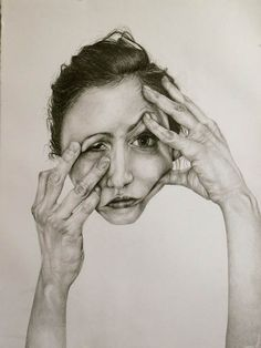 Self-Deception Drawing by Gillian Lambert