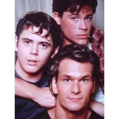Thomas Howell, Rob Lowe, and Patrick Swayze - the Curtis brothers. The Outsiders Quiz, The Outsiders Ponyboy, The Outsiders Imagines, The Outsiders 1983, The Outsiders Fanfiction, The Outsiders Greasers, Dallas Winston, Rob Lowe, Patrick Swayze
