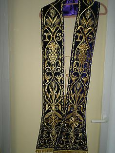 Stole Chasuble Cope Vestments Priest Messgewand