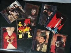 Topps cards for 1992 Bram Stoker´s Dracula.