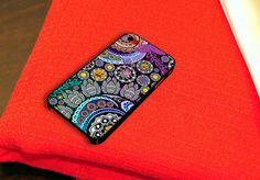 Mehndi Garden iPhone 4 iPhone 4S Case by caseboy on Etsy, $15.79