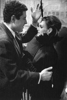 Deborah Dixon, photo by Frank Horvat for Harper's Bazaar, Rome, 1962
