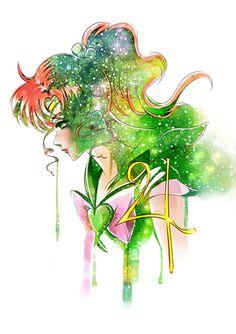 """sailor jupiter"" - World of Eternal Sailor Moon Sailor Jupiter, Arte Sailor Moon, Sailor Moon Fan Art, Sailor Uranus, Sailor Neptune, Sailor Mars, Sailor Moon Crystal, Anime Manga, Anime Art"