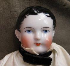Antique CHINA BOY (MAN) DOLL, quality decoration, rare | eBay
