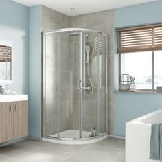 iflo Edessa Quadrant Shower Enclosure 800 x 800mm
