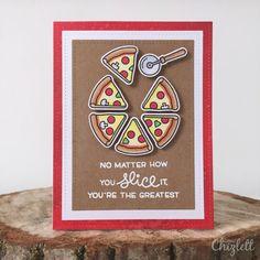 Lawn Fawn Pizza My Heart Emma Chizlett