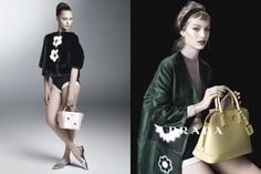 Sasha Pivovarova, Raquel Zimmermann, Eva Herzigova, Amber Valletta and Others Star in Pradas Spring 2013 Campaign by Steven Meisel   Fashion Gone Rogue: The Latest in Editorials and Campaigns