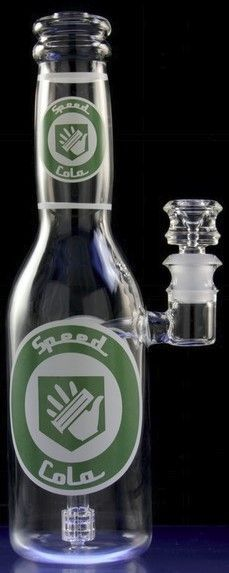 """Perk-a-Cola"" Water Pipe By High Tech Glassworks https://www.smokecartel.com/collections/glass-water-pipes-and-bongs/products/high-tech-glassworks-perk-a-cola-water-pipe?aff=834"