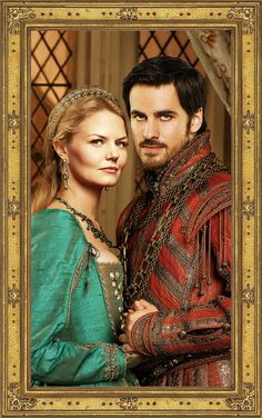 Emma & Killian - Enchanted Forest - Betrothal Portrait