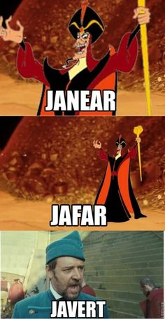 Les Miserables and Aladdin explained.