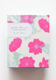Garden Blossoms Notecard Book By Yana Beylinson