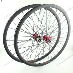 26'' MTB Carbon Wheels Clincher 22MM with Novatec Hubs D711SB/D712SB-AA