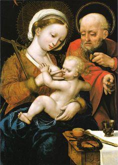 Religious Artist: The Holy Family (c. 1530)