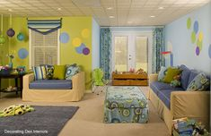 this is a fun room! love the colors