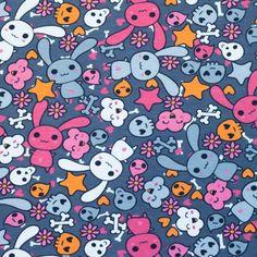 Úplet Bunny Skull dark grey Dark Grey, Bunny, Skull, Kids Rugs, Decor, Bunnies, Darkness, Fabrics, Skull And Crossbones